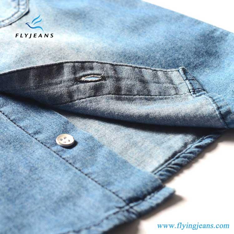 7575f8a6c54 Popular Hot Sale Blue Boys  Long Sleeve Denim Shirt. 1501813339224.jpg.  1501813344584.jpg. 1501813346613.jpg